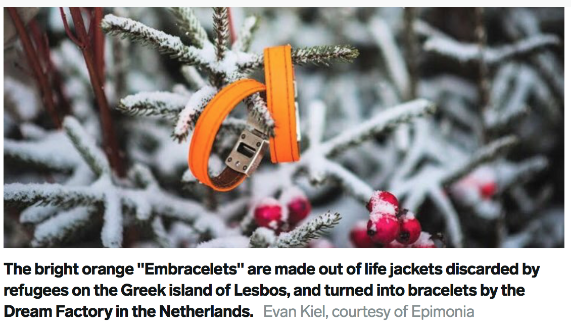 From disaster to inspiration- life saving bracelets of empowerment